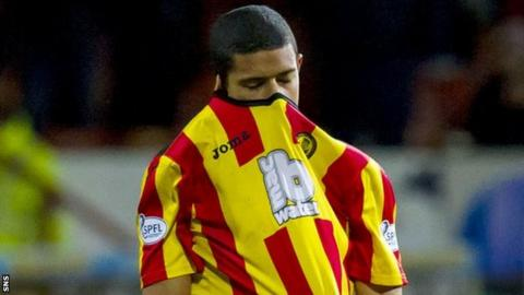 Partick Thistle striker Lyle Taylor