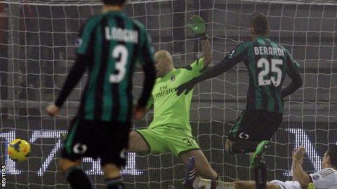 Sassuolo v AC Milan