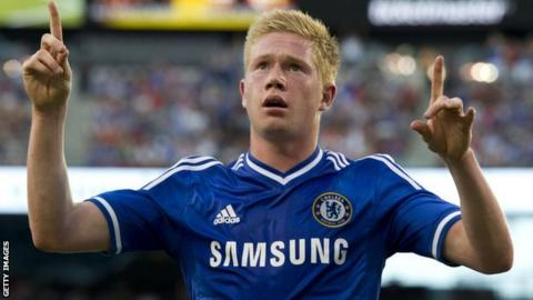 the latest 87d86 9dd63 Kevin de Bruyne: Wolfsburg sign Chelsea midfielder - BBC Sport