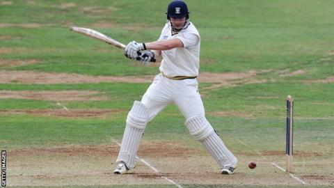 Durham opening batsman Mark Stoneman