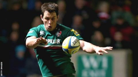 Leicester Tigers lock Louis Deacon
