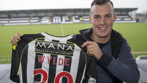 Gregg Wylde at St Mirren Park