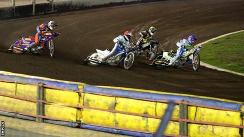 Speedway at Ipswich's Foxhall Stadium