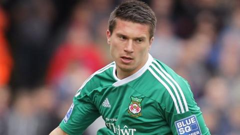 Adrian Cieslewicz played for Wrexham for five seasons