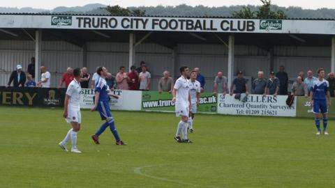 Truro City FC's Treyew Road ground