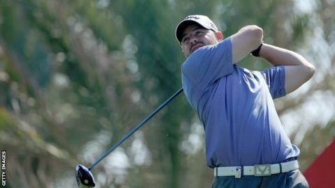 Scottish golfer Craig Lee