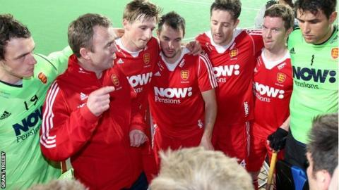 England hockey team talk