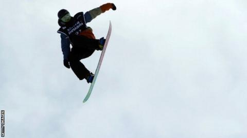 British slopestyle snowboarder Billy Morgan