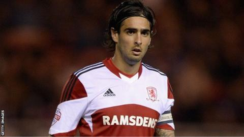 Rhys Williams of Middlesbrough