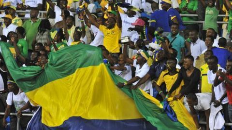 Gabon fans