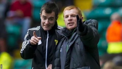 Celtic boss Neill Lennon