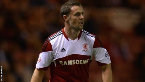 Middlesbrough defender Frazer Richardson