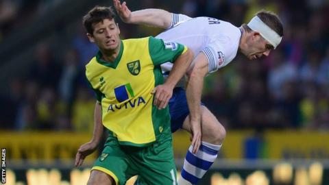 Norwich midfielder Wes Hoolahan