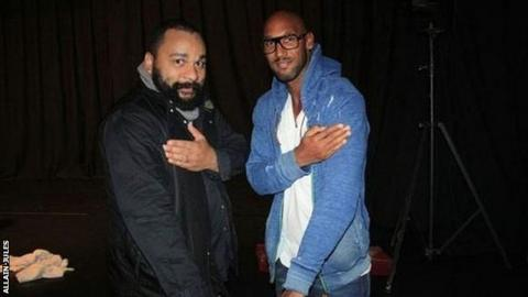 Dieudonne and Nicolas Anelka
