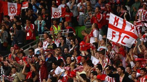 Melbourne Heart FC fans