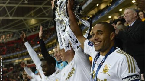 Swansea City lift Capital One Cup