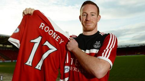 Adam Rooney has joined Aberdeen