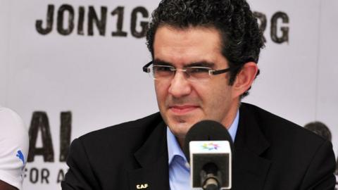 Caf secretary general Hicham El Amrani