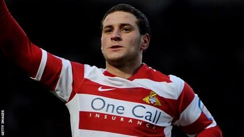 Doncaster Rovers striker Billy Sharp