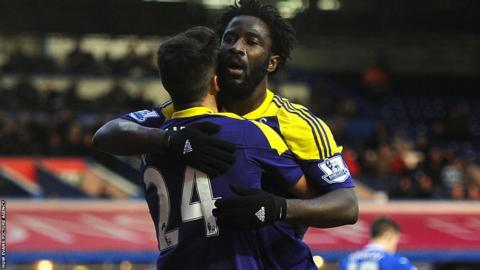 But Wilfried Bony came off the bench to score twice for Swansea to knock Birmingham City out of the FA Cup.