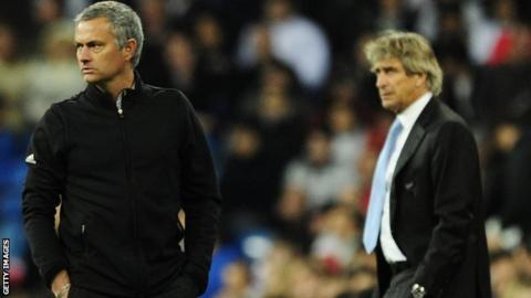 Jose Mourinho and Manuel Pellegrini