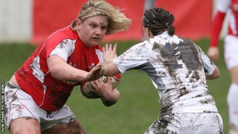 Wales captain Catrin Edwards