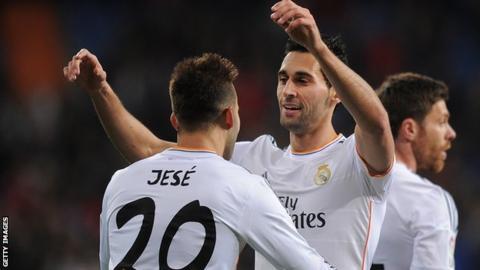 Real Madrid win to reach Copa del Rey semi-finals