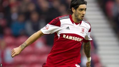 Middlesbrough defender Rhys Williams