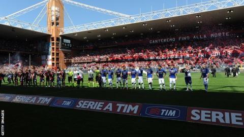 Genoa v Sampdoria