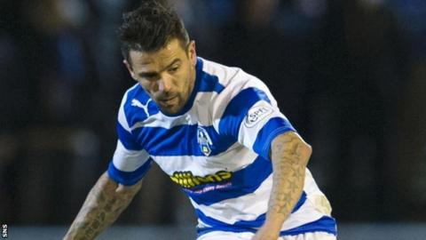 Nacho Novo in action for Morton