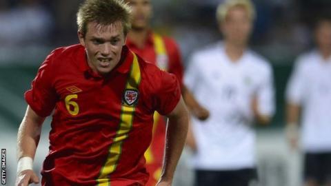 Wales Under-19 defender Jordan Holt