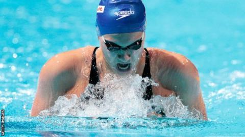 Great Britain swimmer Aimee Willmott