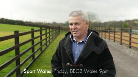 Sport Wales: Warren Gatland at the gallops