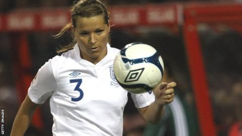 Rachel Unitt  England and Notts Ladies defender injures knee - BBC Sport 70b229651e