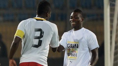 Ghana will play Montenegro and Netherlands in friendlies