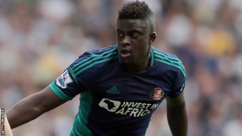 Sunderland midfielder Alfred N'Diaye