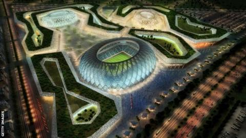 One of the stadiums planned for the 2022 World Cup