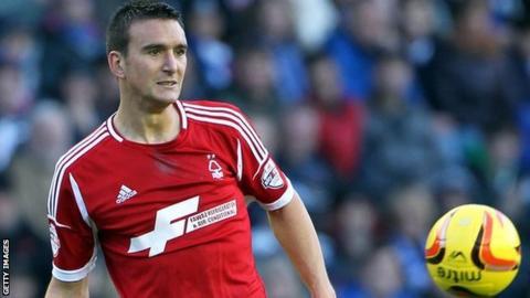 Nottingham Forest defender Jack Hobbs