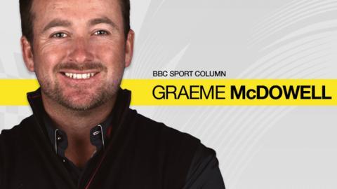 BBC Sport column: Graeme McDowell