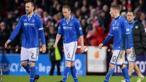 St Johnstone lost 4-0 at Tynecastle