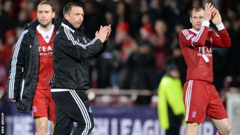 Aberdeen were 4-0 winners at Tynecastle