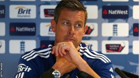 England limited overs coach Ashley Giles