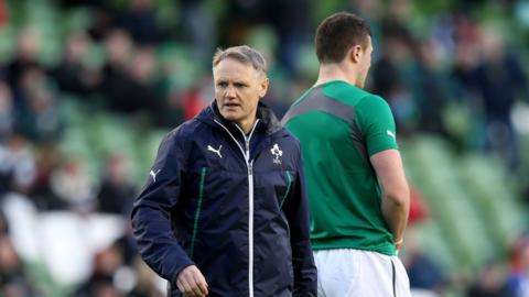 "Ireland coach Joe Schmidt admitted to being ""relieved"" after his first Six Nations game in charge ended in victory"