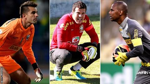 Vitor, Cesar and Jefferson