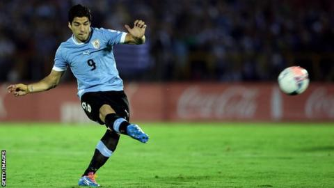 Luis Suarez will face Northern Ireland in World Cup warm-up