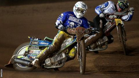 Jason Doyle in action