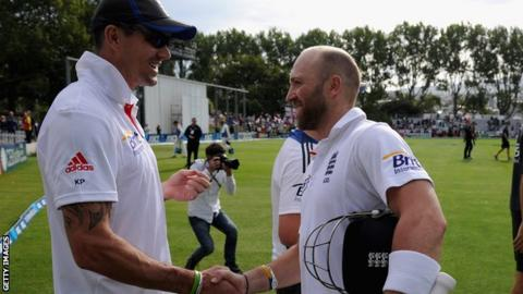 Kevin Pietersen and Matt Prior