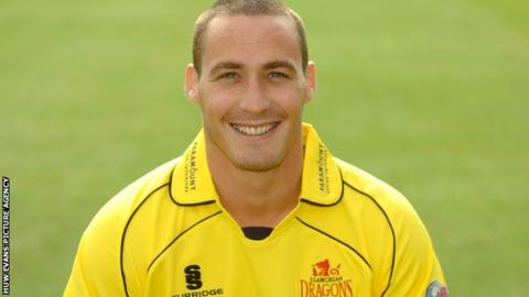 Cricketer Simon Jones
