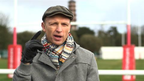 Former England scrum-half Matt Dawson