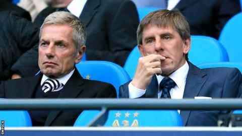 Willie Donachie and Peter Beardsley